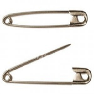 Wallace Cameron First-Aid Safety Pins Assorted Sizes Ref 4823012 [Pack 36]