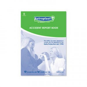 Wallace Cameron Accident Report Book A4 5401016