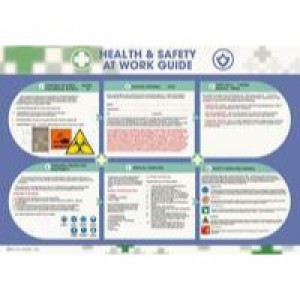 Wallace Cameron Health and Safety Poster Health and Safety at Work 590x420mm 5405023