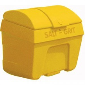 Salt/Grit Bin Lockable 200 Litre Yellow 317063
