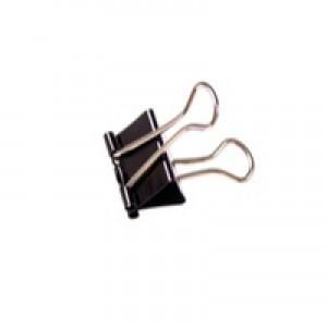 Clipper Foldback Clip 41mm Black Pack of 10 23371
