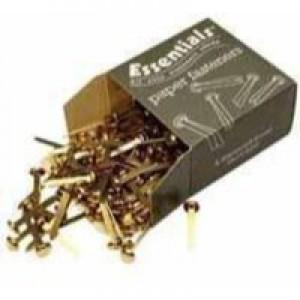 Essentials Paper Fastener Pointed 20mm Pack of 200