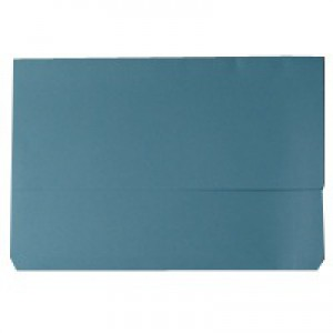 Document Wallet 220gsm Foolscap Blue (Pk 50) WX23011A
