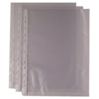 Punched Pocket A4 Clear 270486 Pack of 100