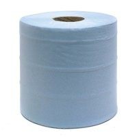 Centre Feed Roll 2-Ply 150 Metre Blue Pack of 6