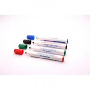 Whiteboard Marker Bullet Tip Assorted Pk 4 WX98005