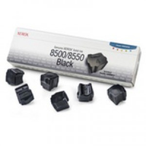 Xerox Phaser 8500/8550 Solid Ink Stick Pack of 6 Black 108R00672