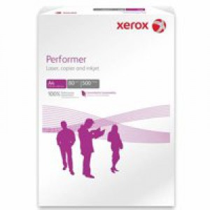 Xerox Performer Paper A4 80gsm White 5 Reams 003R90649