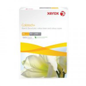 Xerox Colotech+ Gloss Coated Paper A4 140gsm White Pack of 400 003R90339
