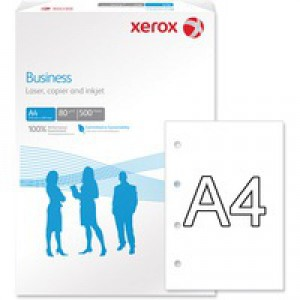 Xerox Paper A4 80gsm Punched 4-Hole White Ream 003R91823