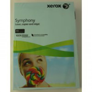Xerox Symphony Paper A4 80gsm Pastel Tints Blue Ream 003R93967