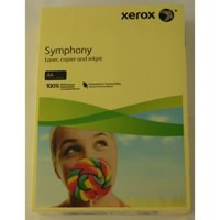 Xerox Symphony Paper A4 80gsm Pastel Tints Yellow Ream 003R93975