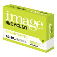 Image for Image Recycled Bright White A3 80Gsm